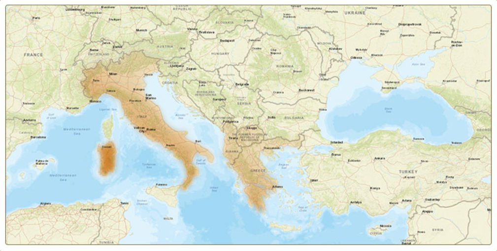 image of ancestry map